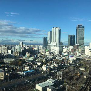 今日の名古屋駅🚄今日はとってもいい天気☀