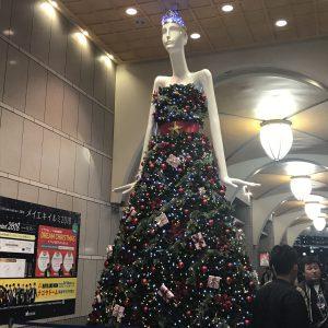 名古屋駅のシンボル「ななちゃん人形」🎄Xmas✨