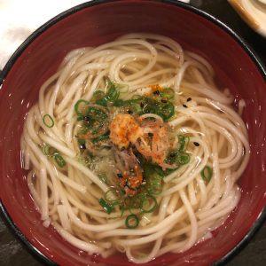 半田そうめんのにゅう麺!徳島の名産品を滋賀で食べれるなんて!!
