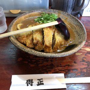 お仕事で神戸に行ってきました。カップ麺にもなっていると噂のカレーうどん