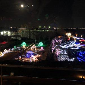 ③3階展望室からの景色☆彡17時以降は大人250円で入館できます(#^^#)