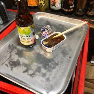 年末!錦市場で飲み納め(#^^#)