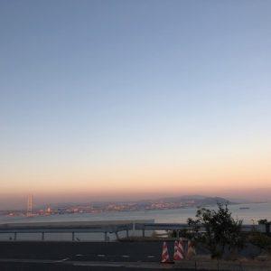 淡路島パーキングからの景色★とってもきれいでした!