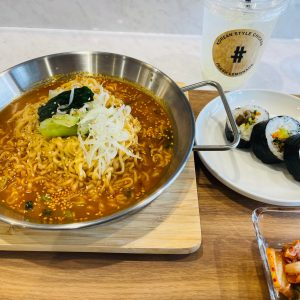 新しく草津にオープンした韓国料理やさんへ💗辛ラーメン🍜🔥チャルモッゴスムニダ